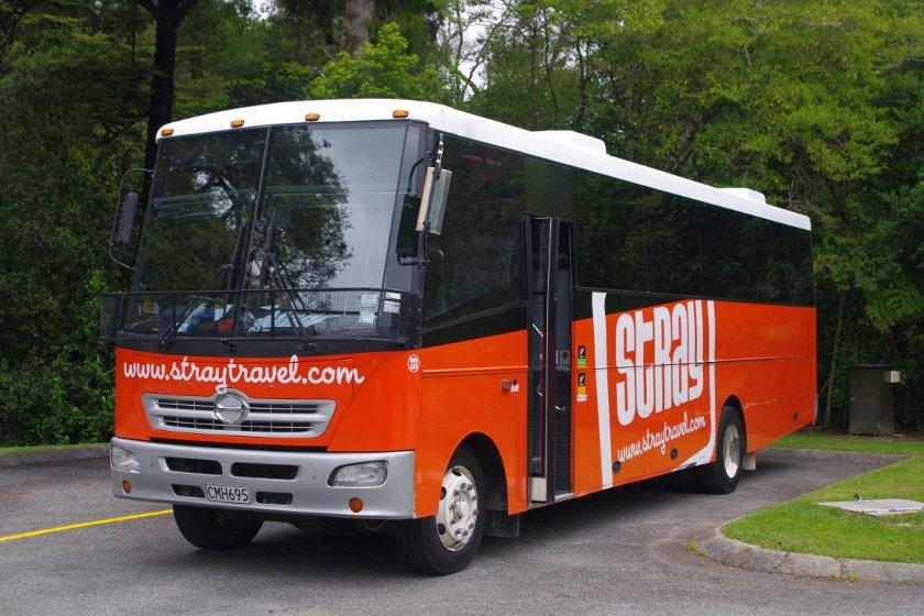 Auszeit Neuseeland Buspass