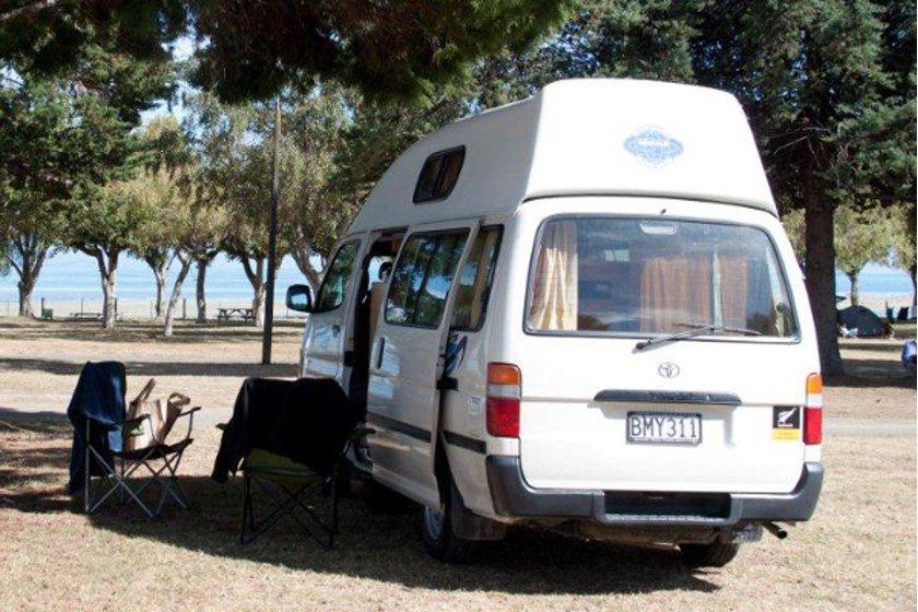 Auszeit Neuseeland Campervan