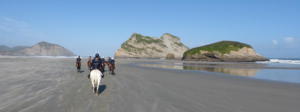 Wharariki Beach Horse Riding