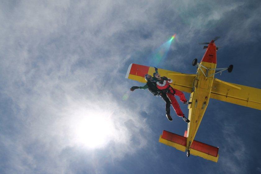 Auszeit Neuseeland Fallschirmspringen