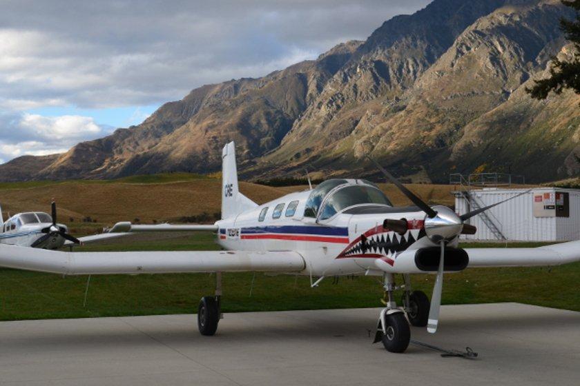 Auszeit Neuseeland Flug-1