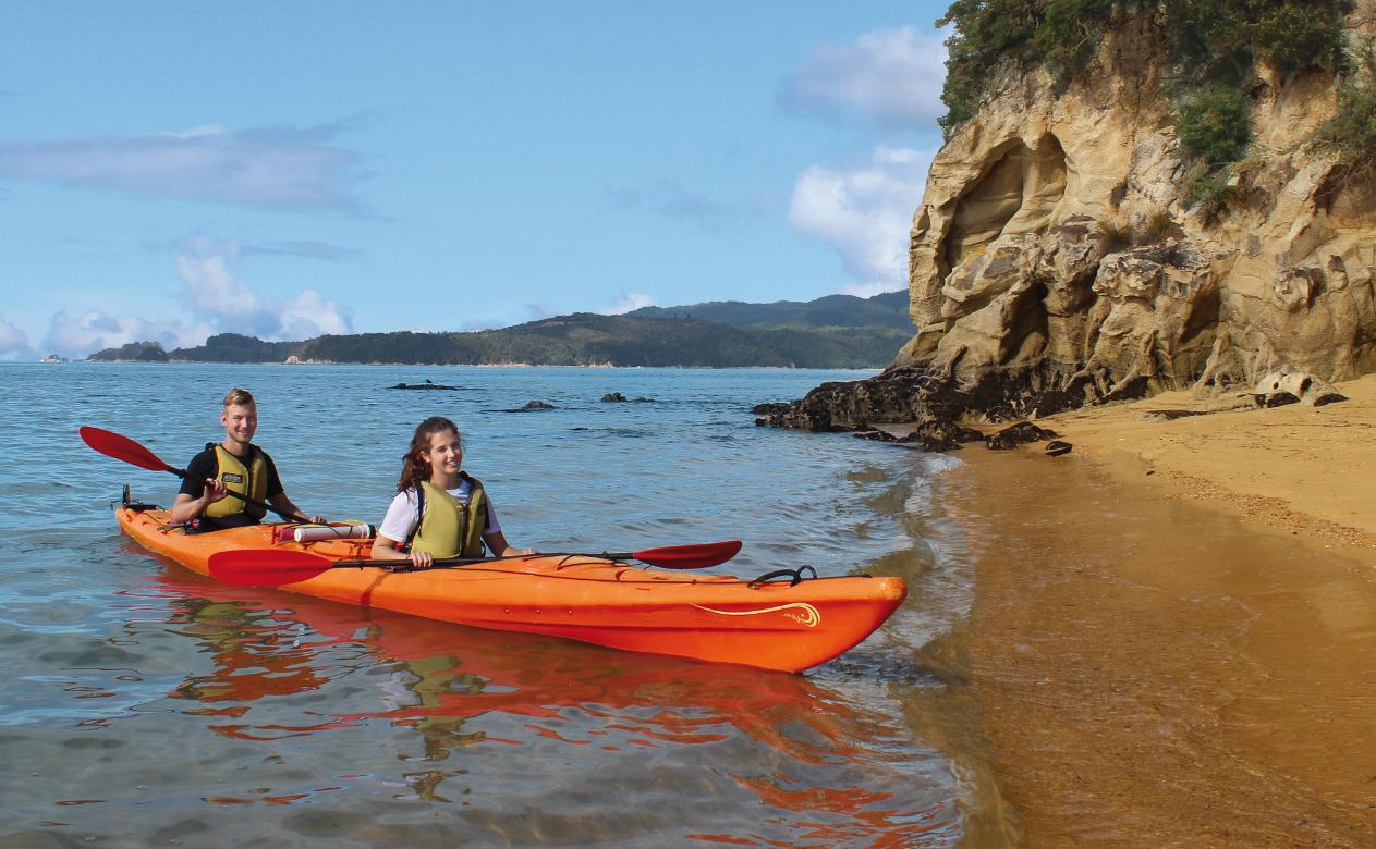 Auszeit Neuseeland Coquille Bay