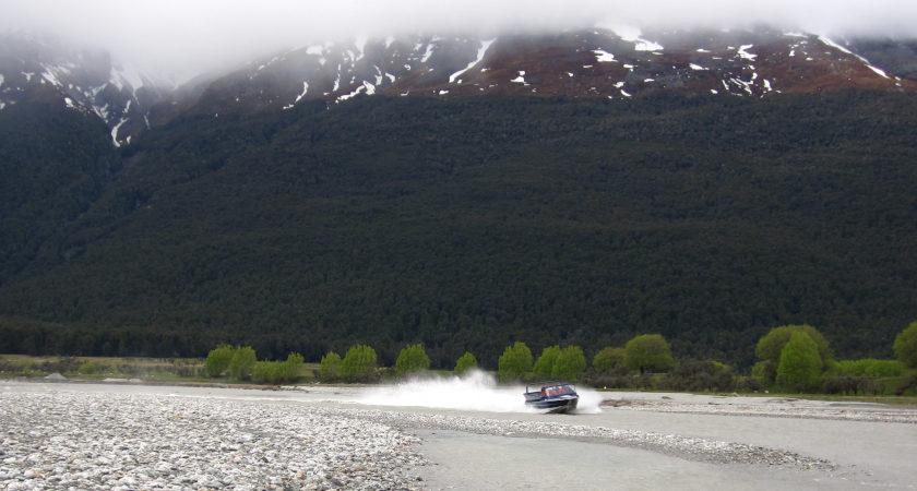 Auszeit Neuseeland Jetboating