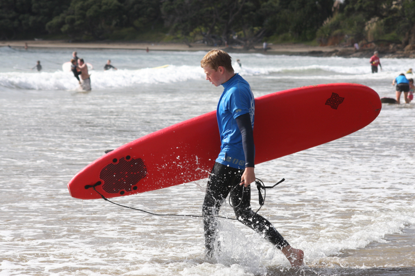 Auszeit Neuseeland Surfen
